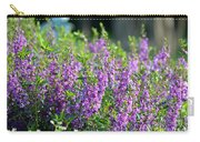 Purple English Garden  Carry-all Pouch