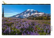 Purple Fields Forever Carry-all Pouch