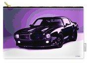 Purple Firebird Carry-all Pouch
