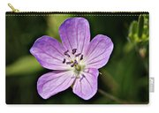 Purple Flower 1 Carry-all Pouch
