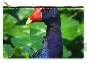 Purple Gallenule Carry-all Pouch