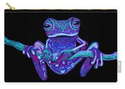 Purple Ghost Frog Carry-all Pouch