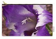 Purple Gladolia Carry-all Pouch