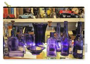 Purple Glass Collection Carry-all Pouch