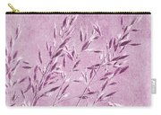 Purple Gras Carry-all Pouch