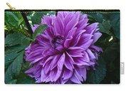 Purple Haze Dahlia Carry-all Pouch