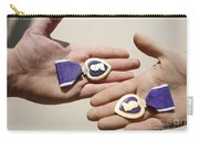 Purple Heart Recipients Display Carry-all Pouch