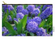 Purple Hyacinths Carry-all Pouch