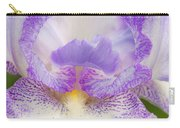 Purple Iris Bliss Carry-all Pouch