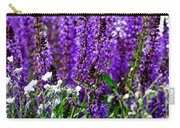 Purple Lavender Flower In Bloom  Carry-all Pouch