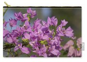 Purple Of The Bougainvillea Blossoms Carry-all Pouch