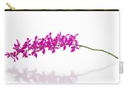 Purple Orchid Bunch Isolated Carry-all Pouch