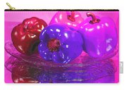 Purple Peppers Carry-all Pouch