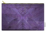 Purple Poeticum Carry-all Pouch by Tim Allen
