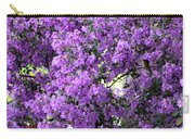 Purple Screen Square Carry-all Pouch