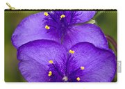 Purple Spiderwort 1 Carry-all Pouch