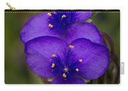 Purple Spiderwort 3 Carry-all Pouch