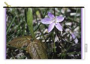 Purple Spring Trail Flower Carry-all Pouch