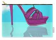 Purple Stilt Stilettos Reflections Carry-all Pouch