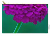 Purple Zinnia II Carry-all Pouch