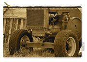 Put Out But Not Abandoned In Sepia Carry-all Pouch