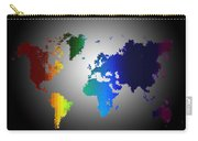 Puzzle World Treasure Map Carry-all Pouch