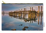 Pylons In Humboldt Bay Carry-all Pouch