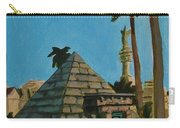 Pyramid Tomb In Cemetary Carry-all Pouch