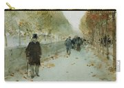 Quai Du Louvre Carry-all Pouch by Childe Hassam