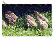 Quail Chicks Carry-all Pouch