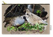 Quail Mates Carry-all Pouch