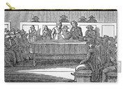 Quaker Marriage, 1842 Carry-all Pouch