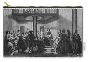 Quaker Meeting, C1790 Carry-all Pouch by Granger