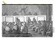 Quaker Worship, 1842 Carry-all Pouch