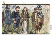 Quakers: Mary Dyer, 1659 Carry-all Pouch by Granger