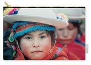 Quechua Girl Amarete Of The Population. Republic Of Bolivia. Carry-all Pouch
