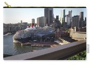 Queen Victoria Berthed In Sydney Carry-all Pouch