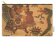 Quetzalcoatl, Aztec Feathered Serpent Carry-all Pouch