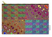 Quilted Fractals Carry-all Pouch