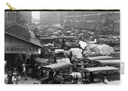 Quincy Market From Faneuil Hall - Boston - C 1906 Carry-all Pouch