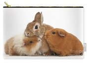 Rabbit And Guinea Pigs Carry-all Pouch