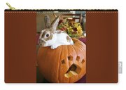 Rabbit Joins The Harvest Carry-all Pouch by Alanna DPhoto