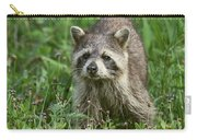 Raccoon Looking For Lunch Carry-all Pouch