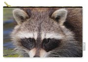 Raccoon Portrait Carry-all Pouch