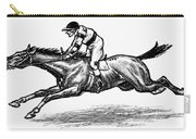 Race Horse, 1900 Carry-all Pouch
