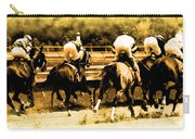Race To The Finish Line Carry-all Pouch