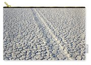 Racetrack Death Valley Trail Of Mystery Carry-all Pouch