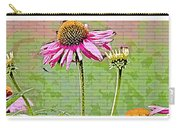 Racetrack Flower Carry-all Pouch