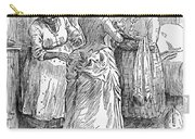 Racial Caricature, 1886 Carry-all Pouch