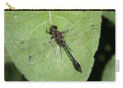 Racket-tailed Emerald Dragonfly Carry-all Pouch